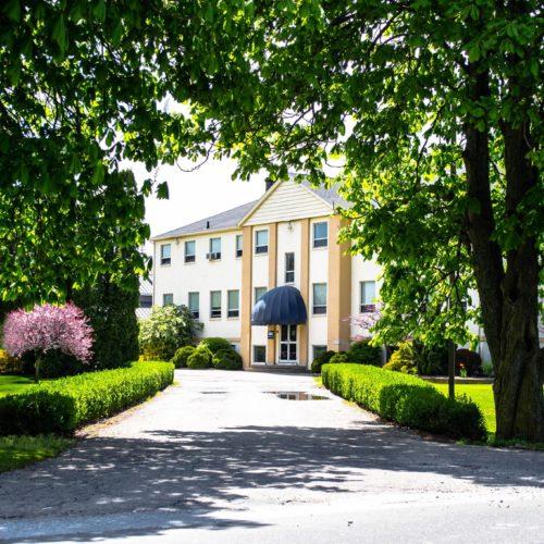 1 - Exterior of School